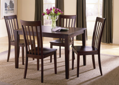 Chocolate Brown 5 Piece Dinette – 11220