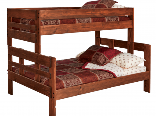 Twin/Full Stackable Chestnut Bunkbed – 206