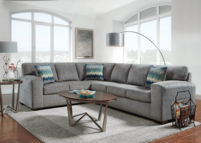 Silverton Pewter Sectional – 5950