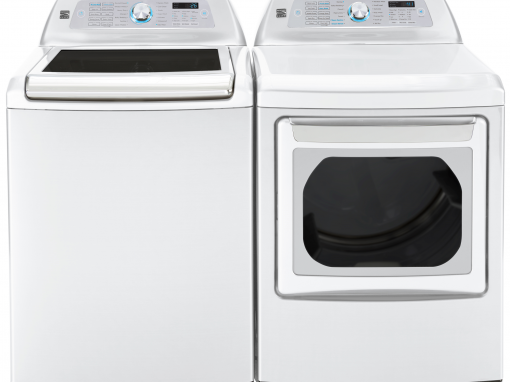 Large Washer Dryer Set